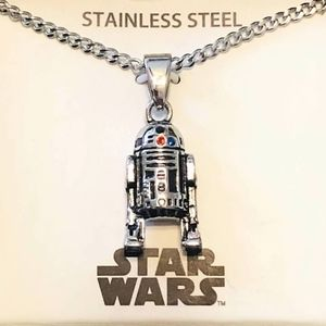 Jewelry - Star Wars R2D2 Necklace
